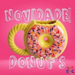 Caneca 3D Donuts Rosquinha Decorada FRETE GRÁTIS!!
