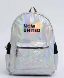 Mochila Now United Holográfica Grande Clio Nu3252 Escolar