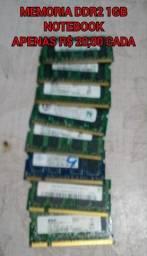 Memória DDR2 1Gb cada para notebook