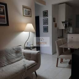 Apartamento com 2 dormitórios à venda, 52 m² por R$ 158.000,00 - Parque Senhor do Bonfim -