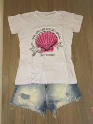 Conjunto (Shorts+Camiseta)