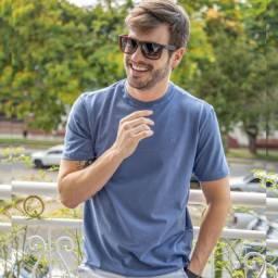 Camiseta Slim Fit, 100% Algodão Premium. LEIA A DESCRIÇÃO ABAIXO