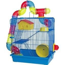 Gaiola 3 Andares Para Hamster