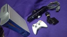 Xbox 360 Fat Com 2 Controles E Kinect