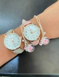Relógio Feminino Quartzo - Preço imperdível- Tenho poucas unidades