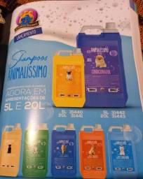 Título do anúncio: Shampoos e Perfumes para Banho e Tosa