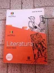 Livro didático literatura projeto múltiplo