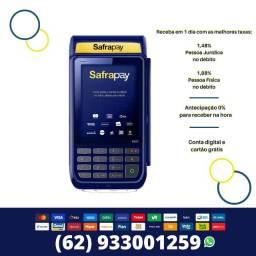 Maquina de Cartão SafraPay