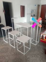 Jogo de mesa cubo 5 peças