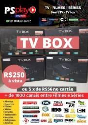 Transforme sua TV em Smart R$250 ou 5x de R$56