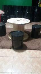 Vendo mesa de carretel de madeiras