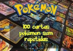 Título do anúncio: Lote de Cartas Pokémon + Brinde