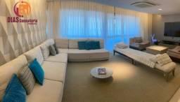 Apartamento no Resort Le Parc de 243m2 com 4 suítes reformado e decorado