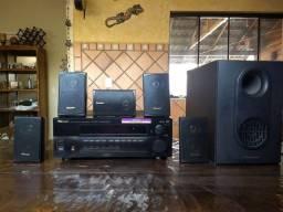 Home Theater Pioneer Reciver VSX - D510