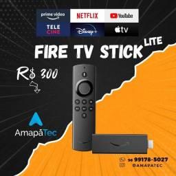Título do anúncio: Fire TV Stick Lite com Controle Remoto Lite por Voz com Alexa   Modelo 2020