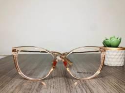 Óculos L.A - Modelo quadrado, rose