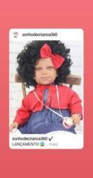 Bebê Reborn - Negra