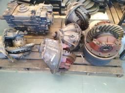 Diferencial Scania e volvo e caixa Mercedes zf