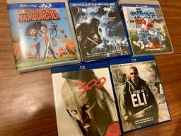 5 Blu Ray originais