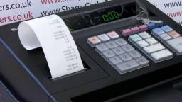 Caixa Registradora Sharp XE A107