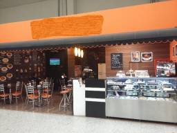 Cafeteria em Supermercado