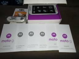 Celular MotoG3 16 GB novo na caixa