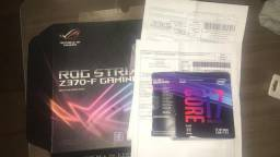 Kit i7 8700k + z370 f + watercooler h115i