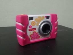 Câmera Digital Infantil Rosa Da Fisher Price