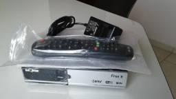 Receptor tv a cabo SatBox free x, novo. Abaixo do preço