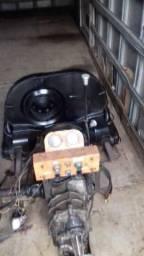 Motor estacionário de fusca com caixa de marcha