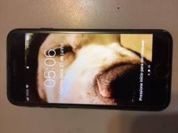 IPhone Apple 7 Preto Matte 32GB - Impecável