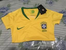 Camisa do Brasil 2018 feminina ORIGINAL NIKE