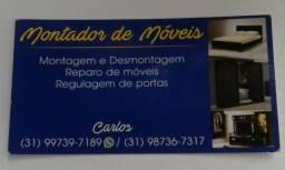 Montagem ou desmontagem de móveis -wadzap 9739-7189