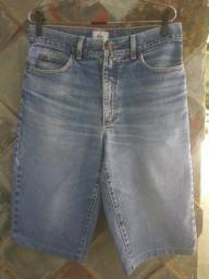 Bermuda Jeans Lacoste tamanho 40