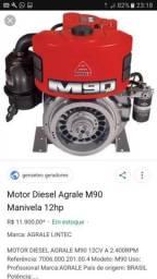 Agrale m90 novinho partida alternador completo comgerdaor 6kva