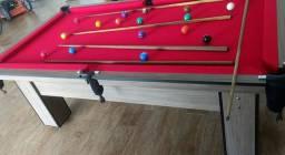 Mesa de Bilhar | Sinuca | Pebolim | Carteado | Jantar | Comercial - Mod. WU60 6