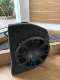 Subwoofer com módulo para mala do mitsubishi lancer