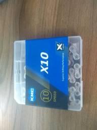 Corrente KMC x10, NOVA LACRADA!! 10 velocidades