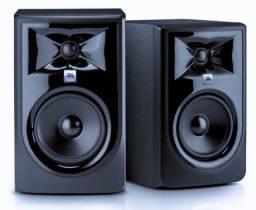 Monitores de Referência Jbl Lsr 305 Mk2 - Par Zero