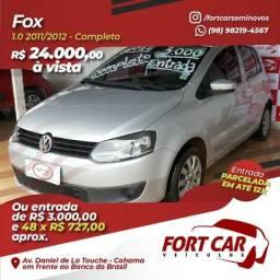 Fox 1.0 Completo: R$ 24.000 à vista, ou entrada de R$ 3.000 - 2011