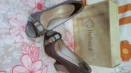 Sapato Marrom Acobreado Bebecê (seminovo)