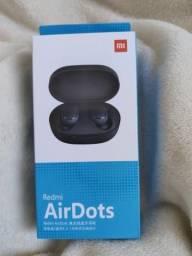 Impressionante! Fones sem fio da Xiaomi Air Dots. Novo lacrado com garantia e entrega