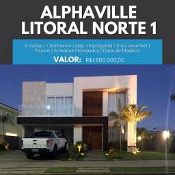 5 Suítes Alphaville Litoral Norte 1