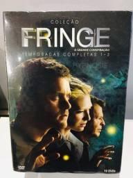 Box DVD Fringe 1ª, 2ª e 3ª Temporada
