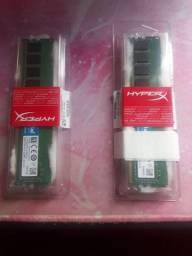 Memórias DDR4 Crucial 4Gb 2133Mhz
