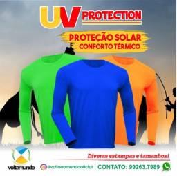 T-shirts / Rash guard - Proteção UV ? Poliamida