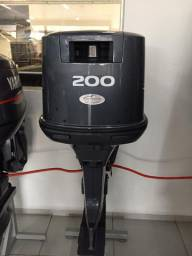 Título do anúncio: Motor de popa 200hp AETL 2 tempos zero na caixa
