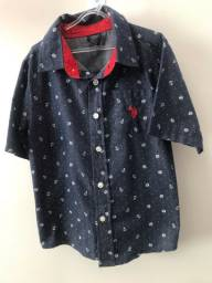 Camisa botão Polo US