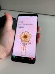 Samsung s9 na caixa