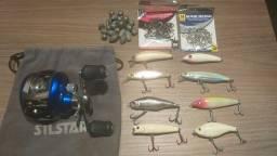 Vende-se Artigos de Pesca semi-novo